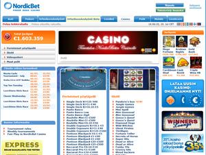 NordicBet screenshot